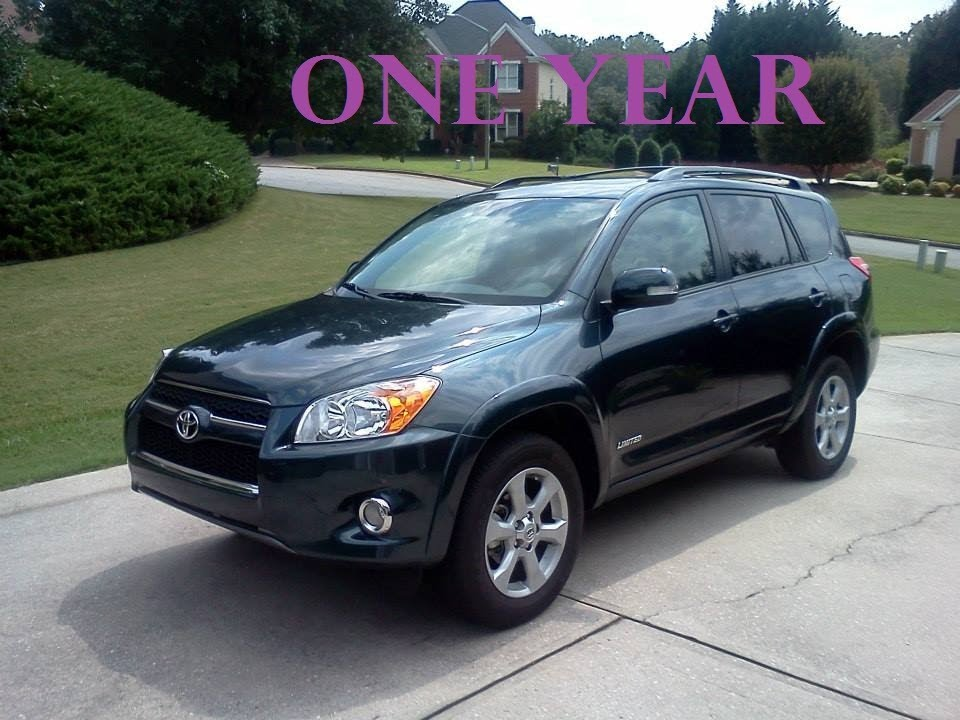 2012 toyota rav4 limited one year review youtube. Black Bedroom Furniture Sets. Home Design Ideas