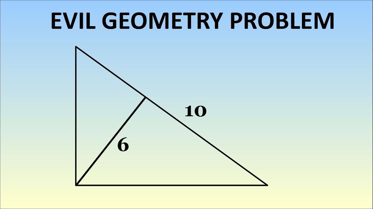 hard geometry questions area of polygons worksheets surface area  evil geometry problem evil geometry problem