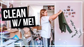 MARIE KONDO-ING MY LIFE! Cleaning Out my Closet & Room!