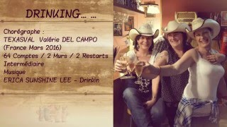 DRINKING COUNTRY LINE DANCE