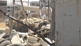 Обстрел танка в Сирии