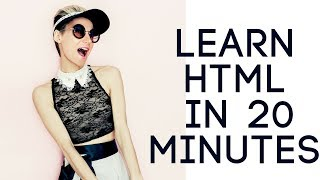Learn HTML in 20 Minutes - HTML Tutorial for Beginners - Introduction to HTML