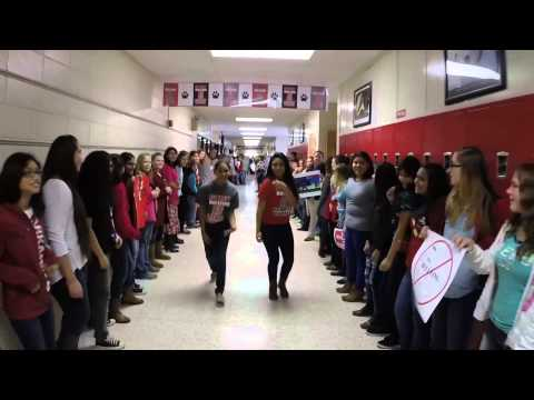 Clarksville Jr High Shake It Off Lip Dub