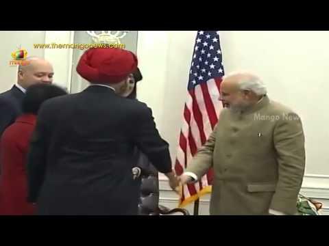 PM Modi meets South Carolina Governor Nikki Haley in US