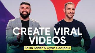 How Goalcast Creates Viral Videos | Salim Sader & Cyrus Gorjipour