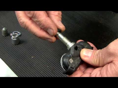 How to Replace a Service Kit on a Fixed Angle Tire Pressure Monitoring Stem