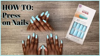 How To: Apply KISS Press On Nails | Naomi Onlae