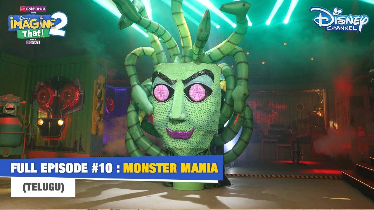 Disney Imagine That 2   Telugu   Episode 10   Monster Mania DIYs   Disney Channel