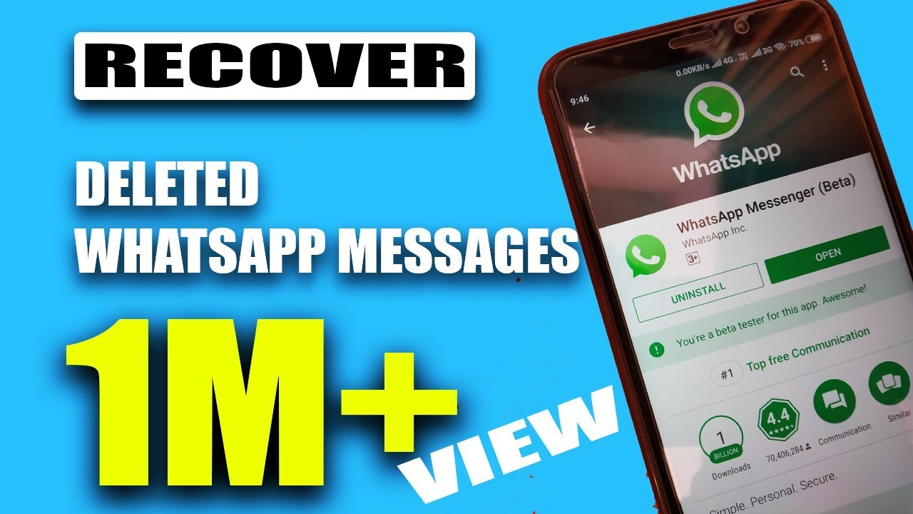 How To Recover Deleted Whatsapp Messages Easily - 2018 -1618
