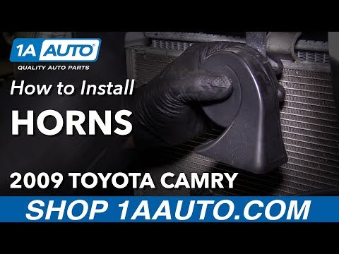 How to Replace Horns 06-11 Toyota Camry