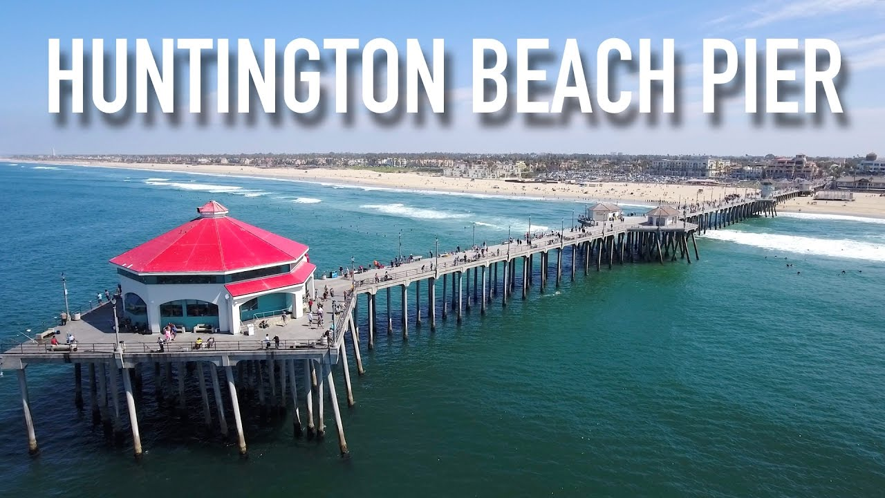 Huntington Beach Pier Surf City Usa