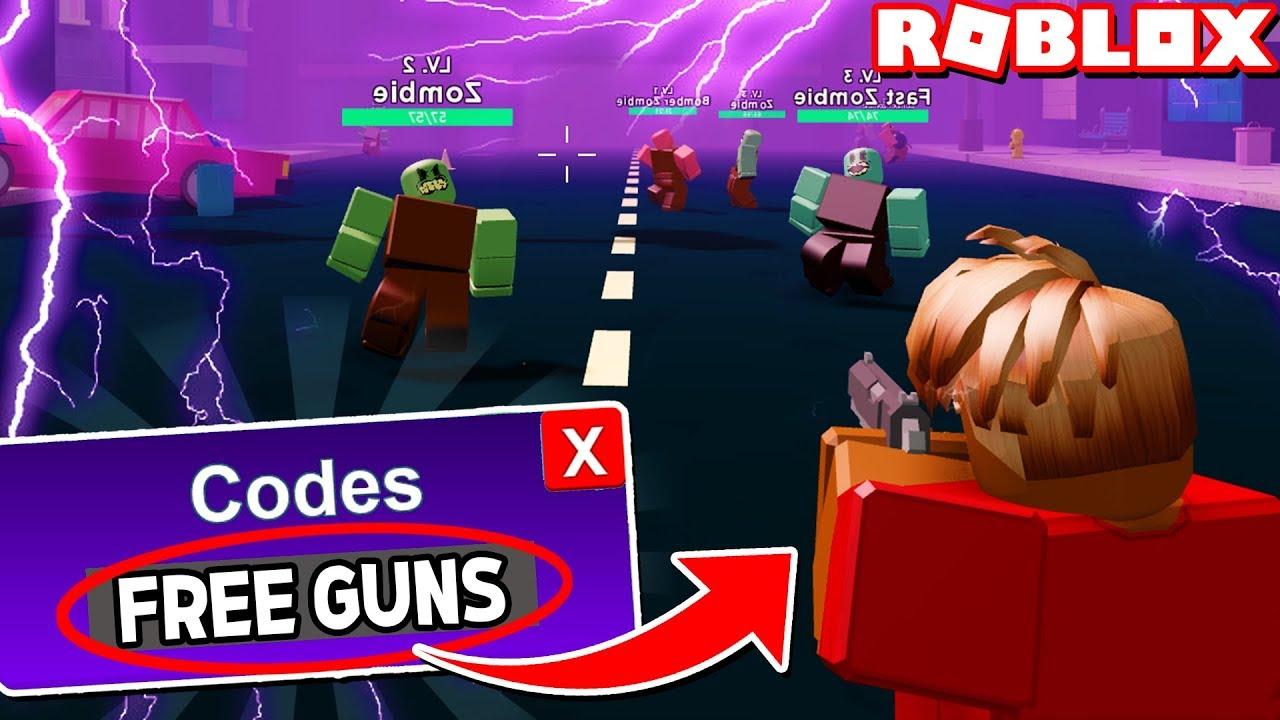 All New Free Gun Codes In Zombie Strike Update Roblox Codes