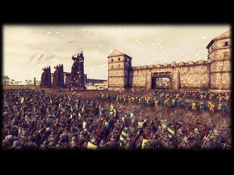 MASSIVE 15,000 VIKING INVASION SIEGE BATTLE - Medieval Kingdoms Total War 1212 AD Mod Gameplay