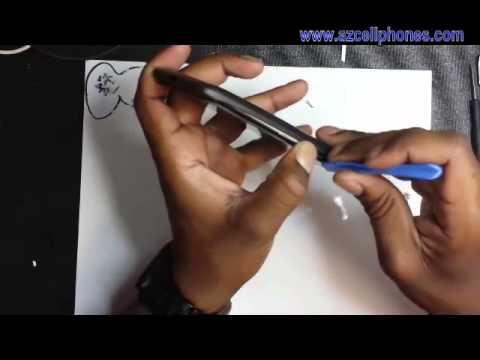 Droid RAZR MAXX Repair - Back Cover Removal