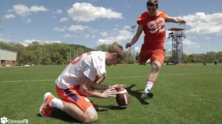 Clemson Football    Kickers vs. New Football Ops Facility