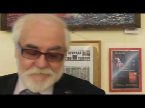 Тищенко Г.И. о своей выставке и о своём творчестве 1