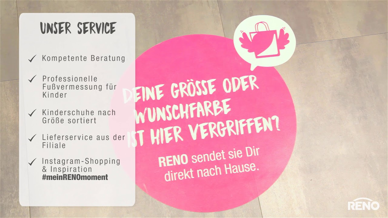 RENO Schuhe in 32457 Porta Westfalica Feldstraße 30