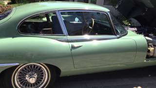 1971 JAGUAR E-TYPE COUPE WILLOW GREEN ALL ORIGINAL FOR SALE JAG
