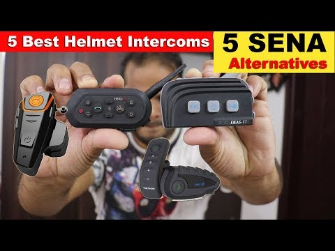 5 Best Helmet Bluetooth Speaker Intercom -  SENA Alternatives