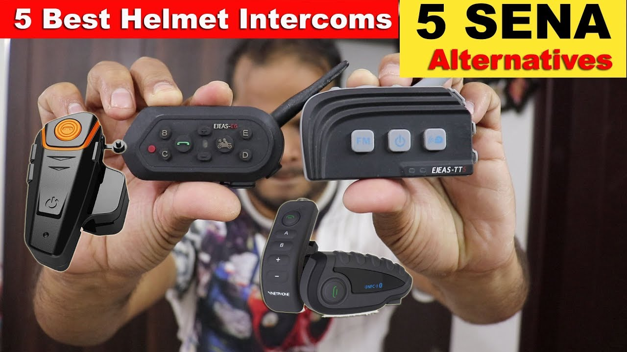 9abc07d2192 5 Best Helmet Bluetooth Speaker Intercom - SENA Alternatives - YouTube
