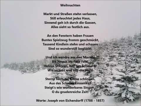 Weihnachten (Worte: Joseph von Eichendorff) - Christoph Holzhöfer ...