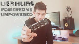 USB hub not working? Powered Vs Unpowered