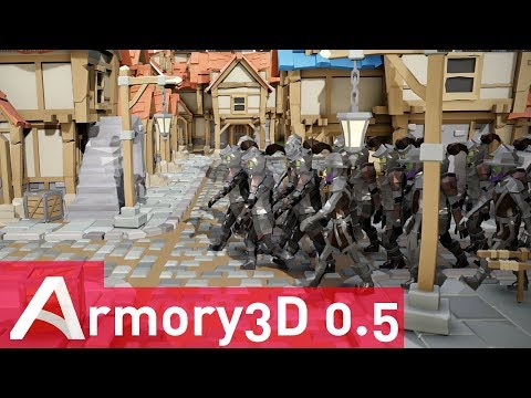 Armory 3D 0.5 Blender Powered Game Engine Released