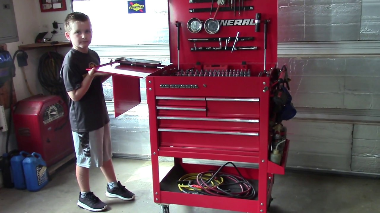Harbor Freight Rolling Tool Cart Mods Youtube