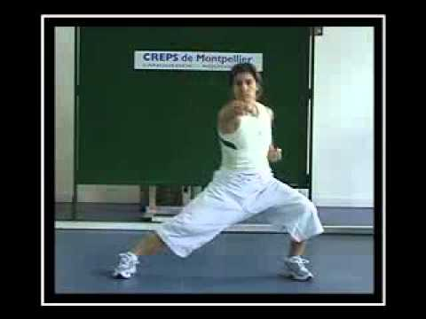 PREPARATION PHYSIQUE Jessica et Sabrina BUIL KARATE KATA CORE TRAINING AND CORE STABILITY