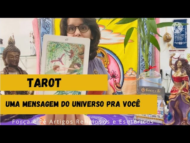 Tarot- Uma Mensagem do Universo pra Você