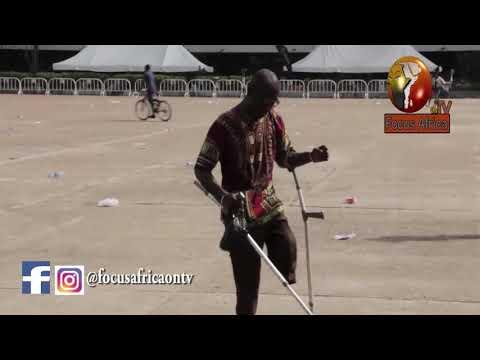 Amputee dance to Oritse Femi's song
