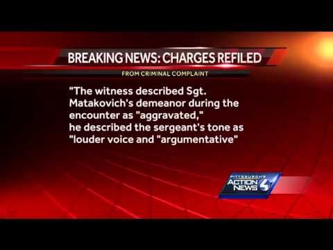 Charges refiled against Pittsburgh cop, along with felony perjury count