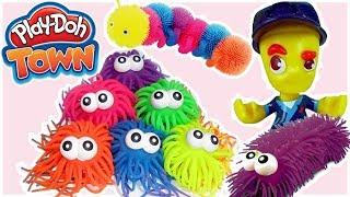 Play Doh Town & Gniotki • Dziwne zwierzęta w mieście • bajki dla dzieci