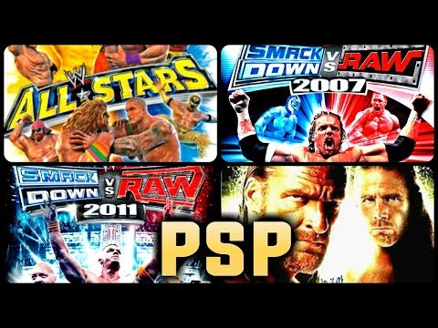 All WWE Games For PSP (PPSSPP)