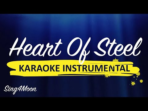 """Heart Of Steel"" Manowar acoustic piano karaoke"