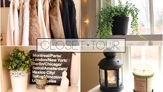 Updated Closet Tour 2015 | Anna Dragonetti