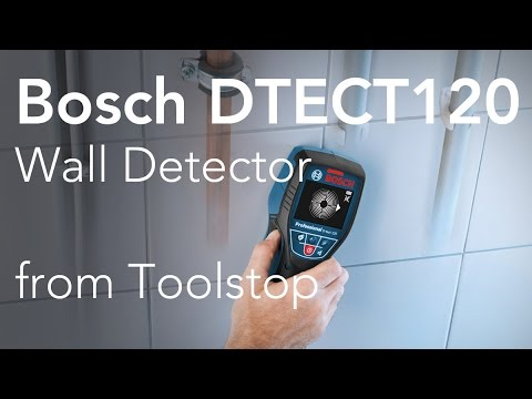 Bosch DTECT120 Wall Detector From Toolstop