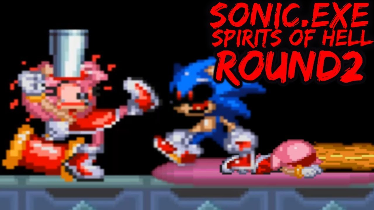 sonic.exe the spirits of hell round 2 ost