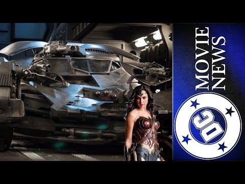 Wonder Woman Updates, Batmobile Upgrades Revealed & More! - DC Movie News