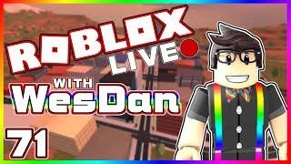 WesDan's ROBLOX Live Stream   Jailbreak & More   STREAM 71