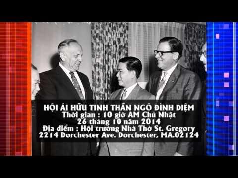 Ngo Dinh Diem Announcement