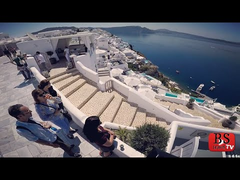 S3 E22: Those that can't Vlog, DRONE. Santorini, Greece Travel Guide