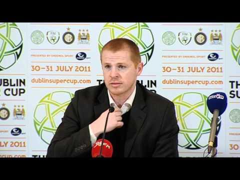 DUBLIN SUPER CUP PRESS CONFERENCE 03/02/2011