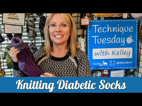 How To Knit Diabetic Socks Using A Double Knit Stitch Without Double Knitting. + Free Goodies