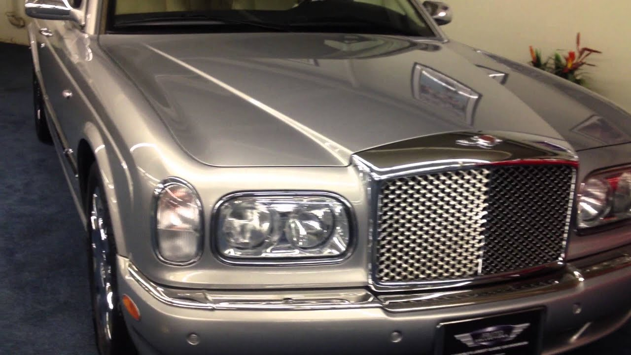 sale review bentley parkers arnage for saloon