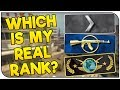 This Is My Real Rank! | CS:GO New Account Challenge