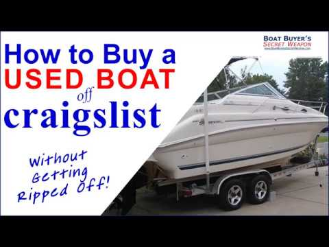 Learn How To Buy A #Used Boat Or Pontoon For Sale On #Craigslist Boats For Sale