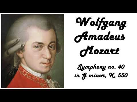 Wolfgang Amadeus Mozart - Symphony no. 40 in 432 Hz tuning (relaxing classical music)