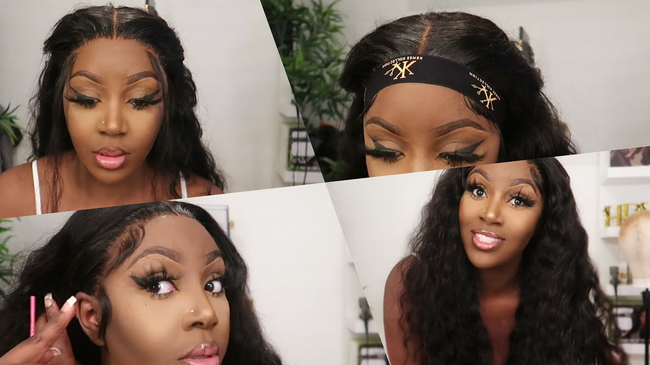 """Quick& easy install! Watch me slay this 30"""" loose deep wave wig Ft. Wiggins hair"""