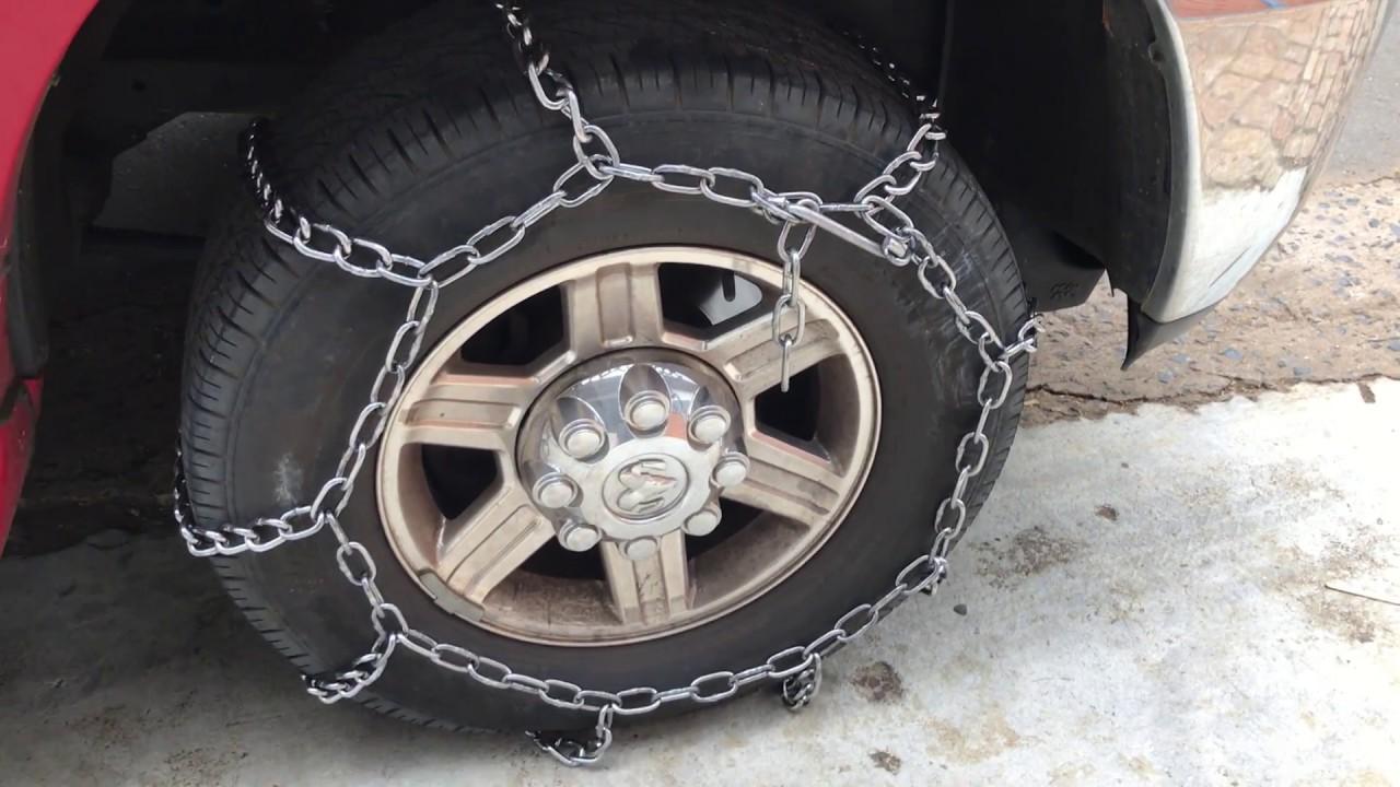 instala o de corrente antiderrapante para pneus corrente para pneus dicas parte 2 youtube